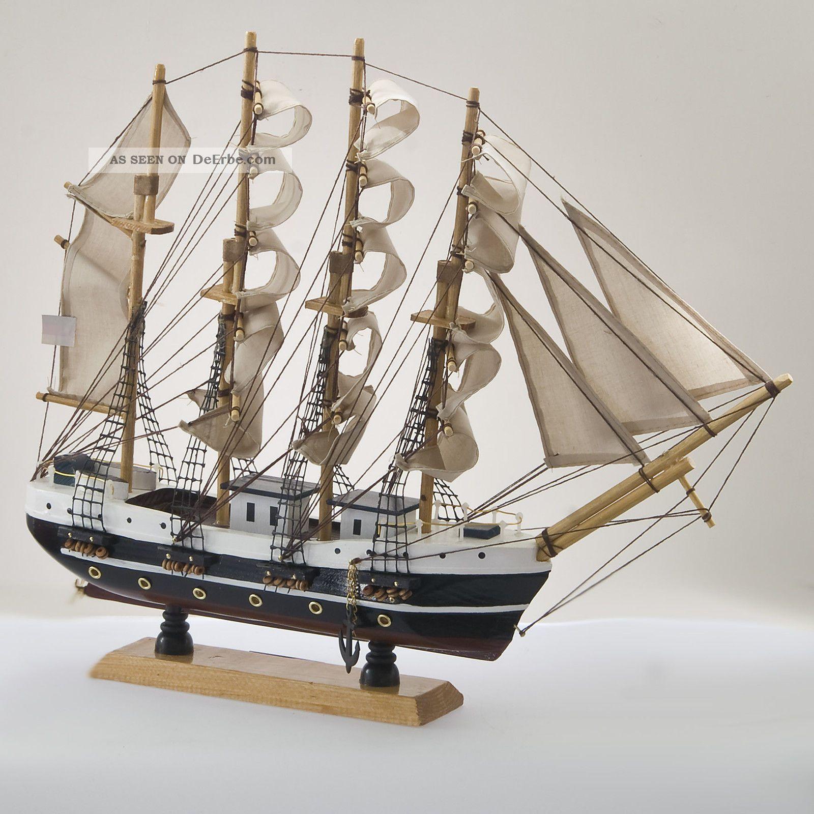 Passat Segelschiff Gro Segler Holz Ca 45cm Deko Standmodell