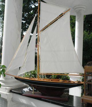 Modell Segelboot Luxusyacht Segelyacht Nr.  29 Maritim Boote Schiff Meer Bild