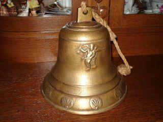 Glocke Aus Bronze Alt Bild