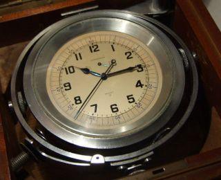 Very Rare Marine Longines Up/down Indicator Split Second Chronometer Chronometre Bild