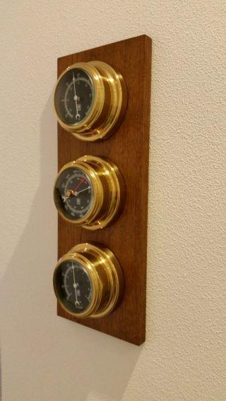 Schiffsinstrumente,  Barometer,  Hygrometer,  Thermometer Bild