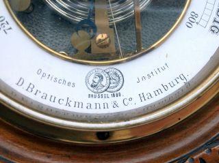 Barometer Wetterstation Wettergerät Antik Antike Hamburg Bild