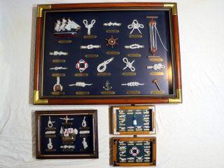 Knotentafeln - Maritime Dekoration - Geschenkartikel Bild