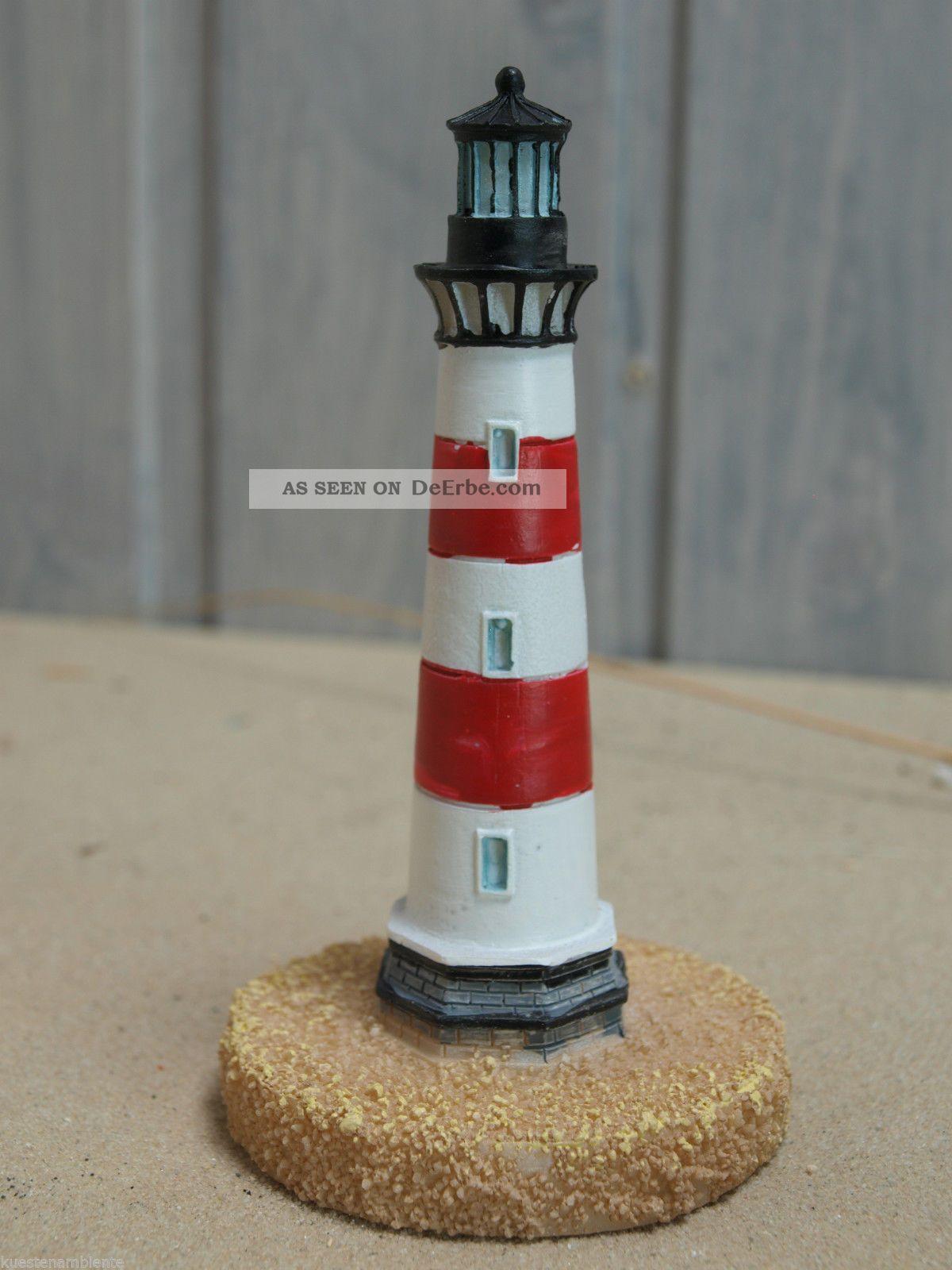 Kleiner Poly Leuchtturm Rot Wei H He Ca 8 5cm F R Die