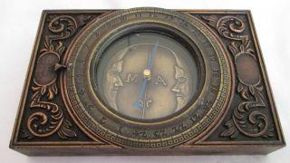 Kompass Nachbildung Markscheider Kompaß 1745 Bild