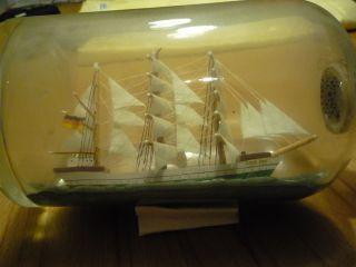 Buddelschiff Mit Der Gorch Fock Bild