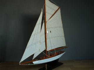 Segelschiff,  60 X 9 X 61 Cm,  Standmodell Aus Holz,  Segelboot Bild