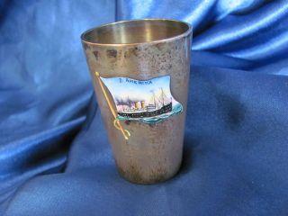 LikÖrbecher / Silberbecher Vom Hapag Dampfer
