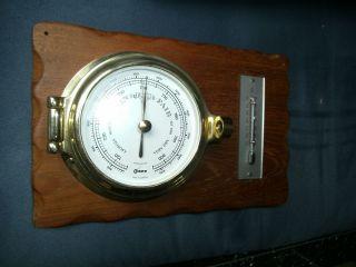 Schiffs Barometer Bild