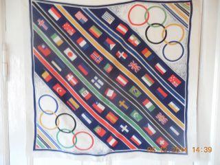 Seidentuch Olympiade 1936 Bild