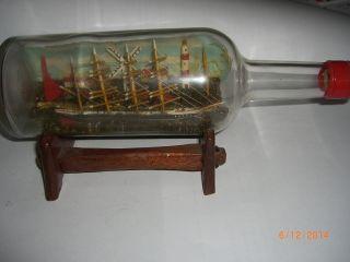 Buddelschiff Flaschenschiff Bild