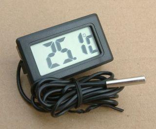 Thermometer Digital Lcd - 40°,  110°c Temperatur Anzeige Messer Termometer Bild