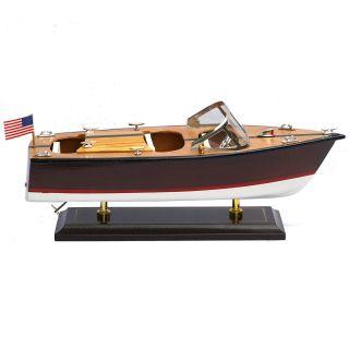 Motorboot Yacht Sportboot Modellschiff Maritime Dekoration Bild