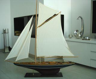 Luxus Bootsyacht Modell Segelboot Segelyacht Maritim Boote Schiff Meer No.  040 Bild