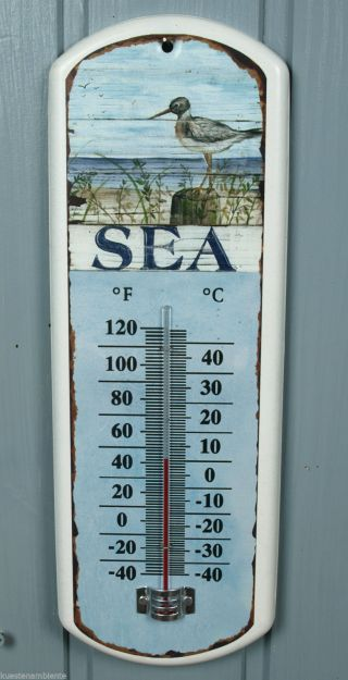 Maritimes Thermometer Aus Metall