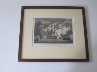 2x Maritime Bilder.  Historisch,  Holzbilderrahmen Bild