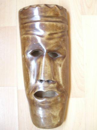 Afrikanische Holzmaske Bild