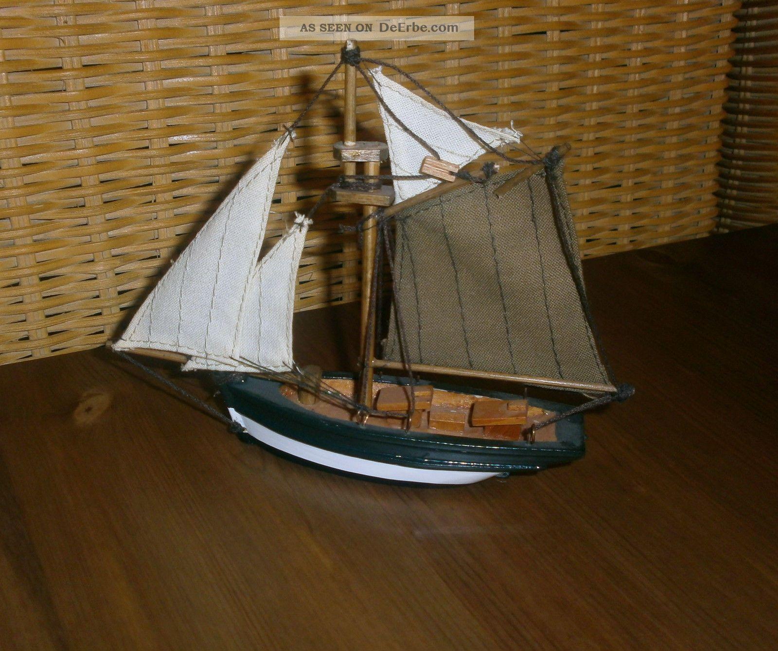 Sch Nes Segelschiff Boot Schiff Deko Maritim 15 Cm Lang