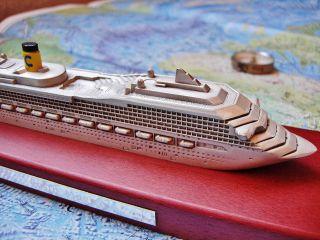 Costa Magica Schiffsmodell,  Miniatur,  Maritimes,  Nautica,  Kreuzfahrt Bild