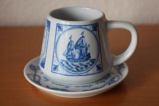 Pharisäer Tasse Nautica Maritim Porzelan Bild