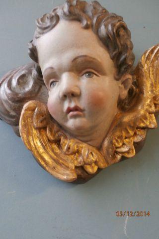 Engelskopf,  Engel,  Putte,  Engel Auf Wolken 19.  Jht. Bild