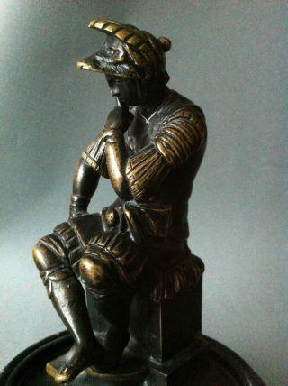 Schöne Bronzefigur Um 1800 Nach Michelangelo Grand Tour Italian Bild