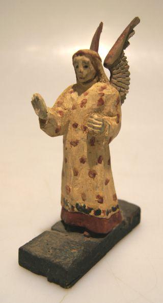 Grulich - Krippenfigur Erzengel,  Engel,  Verkündigungsengel,  Um 1900 Bild