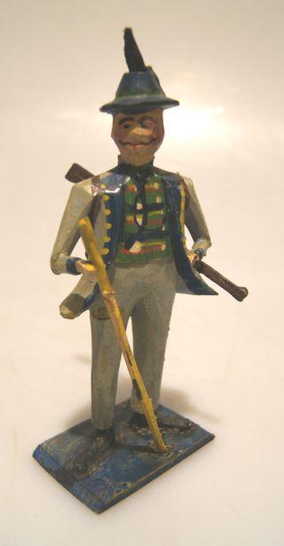 Grulich - Krippenfigur Jäger,  Um 1900 Bild