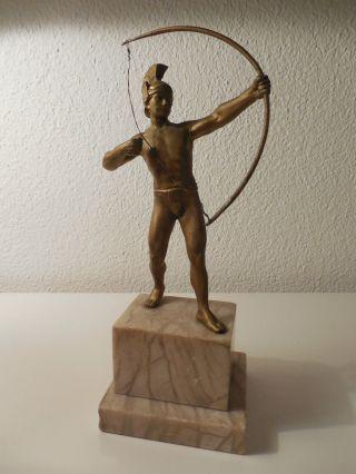 Bogenschütze Griechisch/römische Skulptur Bild
