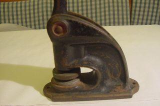 Historische Siegelpresse Usa Mit Siegel Standard Groß,  Selten Bexar Loge. Bild