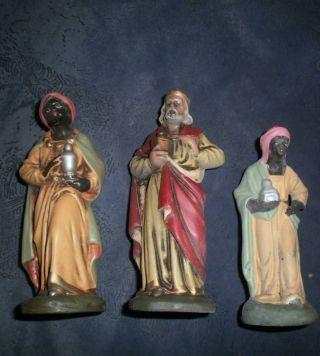 Friedel:3 Herrliche Alte Könige Aus Keramik Bild