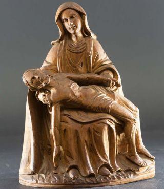 Antike Pieta,  Mater Dolorosa Mit Leichnam Jesus Christus Nach Kreuzigungs - Tod Bild