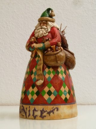 Orig.  Heartwood Creek Weihnachtsmann - Figur By Jim Shore