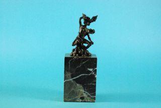 Louis Auguste Moreau - Antike Bronzefigur Des Hermes,  Sign. ,  Jugendstil Um 1890 Bild