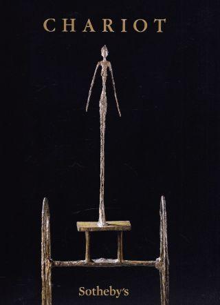 Alberto Giacometti - Skulptur Chariot: Sotheby ' S Toller Gr.  Katalog N.  Y.  14 Bild