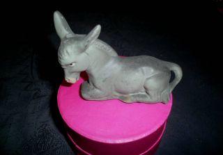 Friedel:alter Esel - - Handbemalt Und Aus Keramik Bild