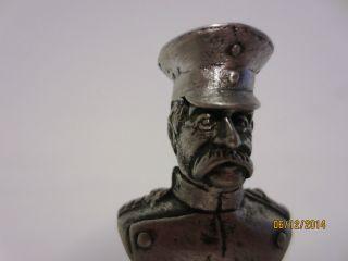 Kleine Metallbüste: Otto Von Bismarck,  Deutsches Reich Um 1890 Bild