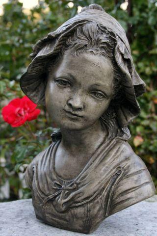 Romantische Büste Nach Grinam Niam Halbbüste Steinfigur Weihnachts - Rabatt - Aktion Bild