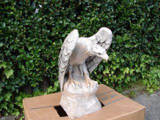 Großer Sehr Alter Schwerer,  Antiker Adler Aus Marmor,  Skulptur,  Plastik Einmalig Bild