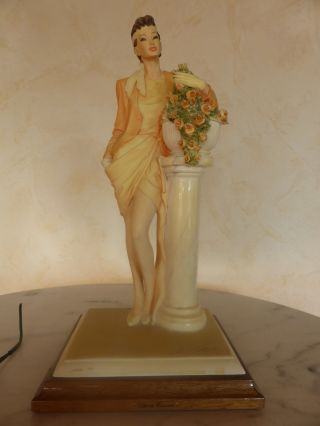 Vittorio - Tessaro A.  D.  L.  Made In Italy.  Hand Painted. Bild