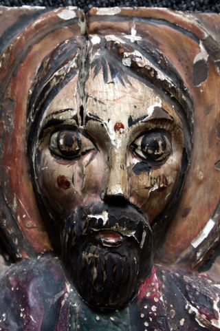 Thronender Christus,  Romanisch Bild