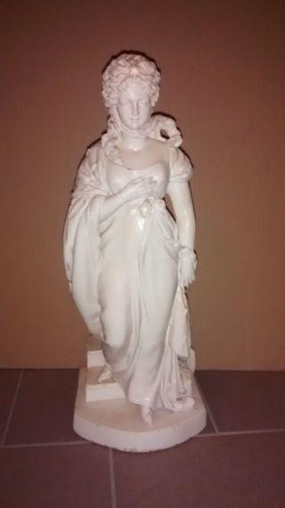 Skulptur,  Statue,  Weibliche Büste,  Sammlerstück,  Weiß,  Einzelstück Bild