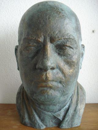 Bronze Skulptur Bronzefigur Bronzeskulptur Bueste Bild