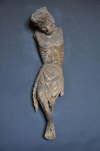 Christuskorpus,  Hochgotik,  Ca.  1350 - 1380,  Linde,  Sammlerobjekt, Bild
