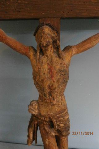 Christus,  Jesus Am Kreuz,  Barocker Christus Um 1780 Bild