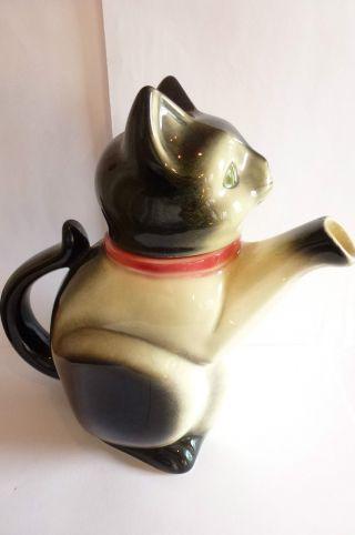 Katze Cortendorf Katzenkanne Figurenkanne Keramik Katze Kaffeekanne Art Deco Bild