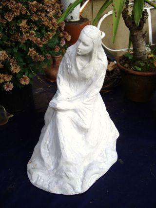 Heilige Anna Skulptur Von Komarek Hl.  Anna.  Josef K.  ? Grulich.  Vladimr K.  ? Bild