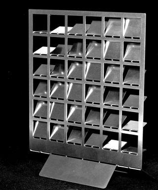 Objekt,  Konkrete Kunst,  Edelstahl,  Handsigniert,  H.  Heinecke,  C20 Bild