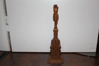 Hausaltar 18 Jh Holz Geschnitzt Bild