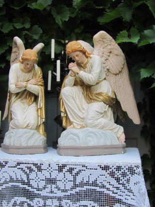 Frankreich Antiker Altar Engel Kirchen Engel Cherub Putto Cherubim Betende Hände Bild